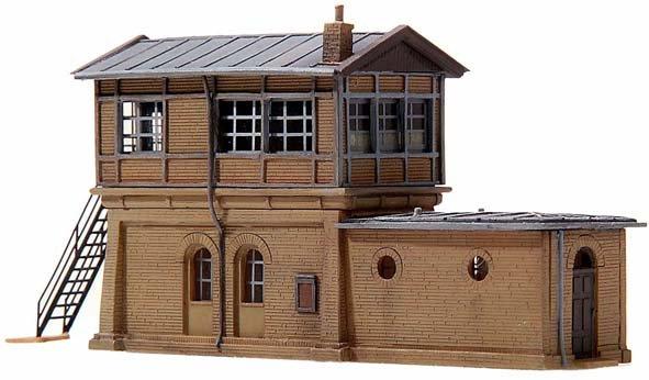 Stellwerk Frederiksberg, 1:160, Bausatz ausResin, unlackiert
