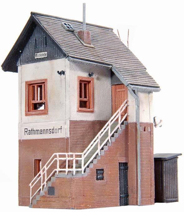Level crossing Rathmannsdorf, 1:160, resin kit, unpainted