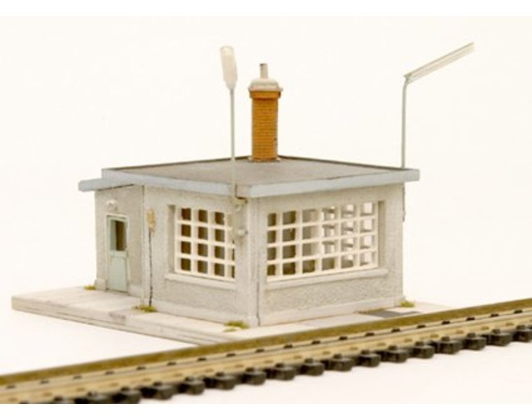 Weigh house and weigh bridge 1:160