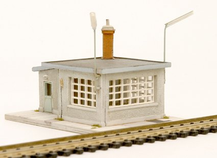 Weigh house and weigh bridge, 1:160, resin kit, unpainted