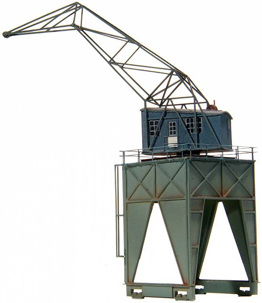 Over-track crane, 1:160, resin kit, unpainted