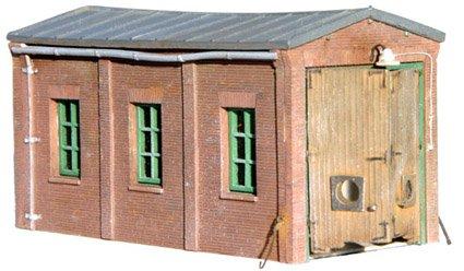 Köf shed, 1:160, resin kit, unpainted