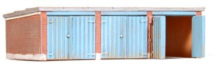 Garagen, 1:160, Bausatz ausResin, unlackiert