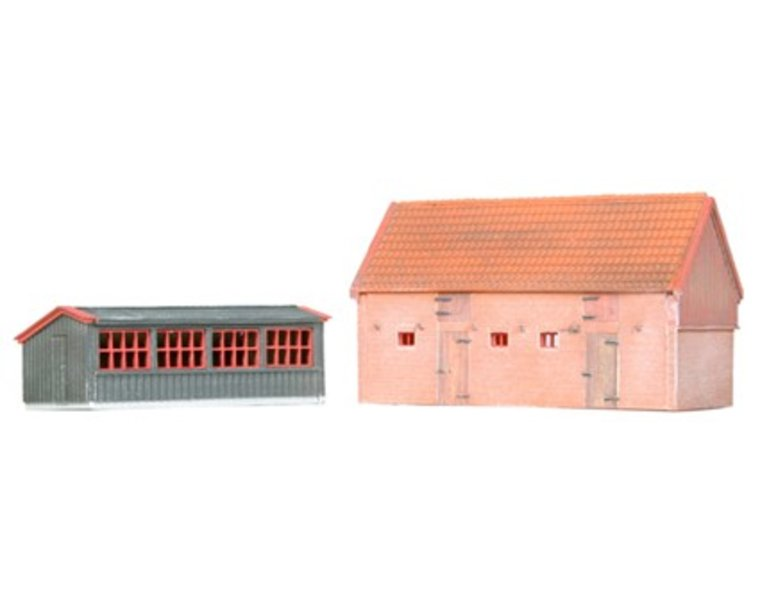 Chicken coop and pigsty 1:160