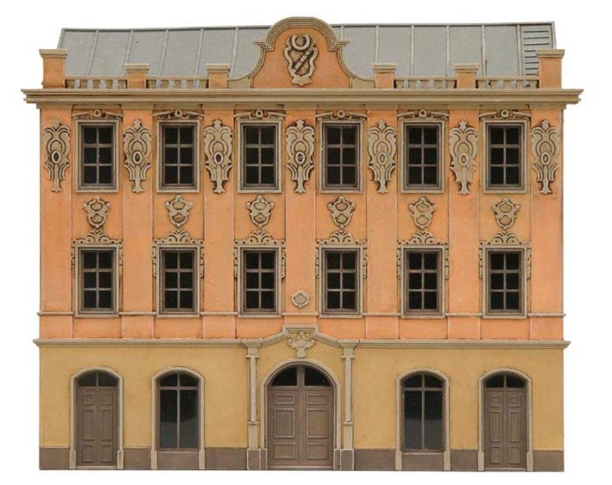 Fassade I, 1:160, Bausatz ausResin, unlackiert