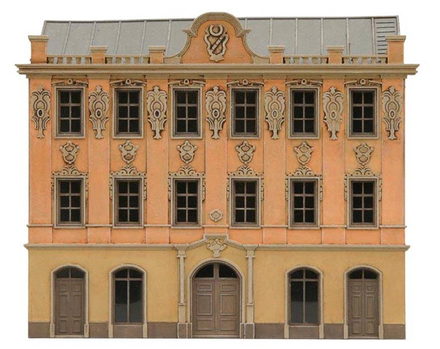 Fassade I, 1:160, bouwpakket uit resin, ongeverfd