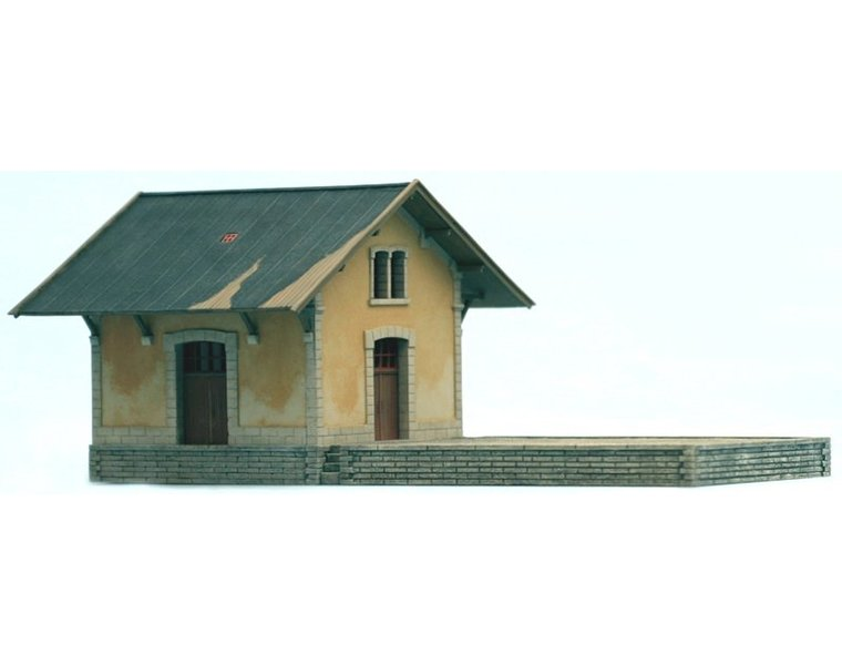 French goods depot 1:160