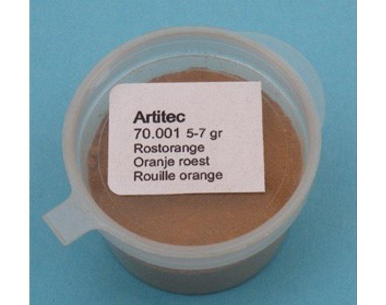 Weathering powder orange rust