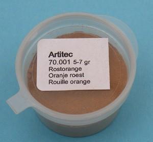 Oranje roest (modelbouwpoeder)