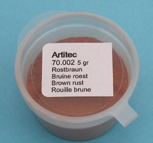 Bruine roest (modelbouwpoeder)