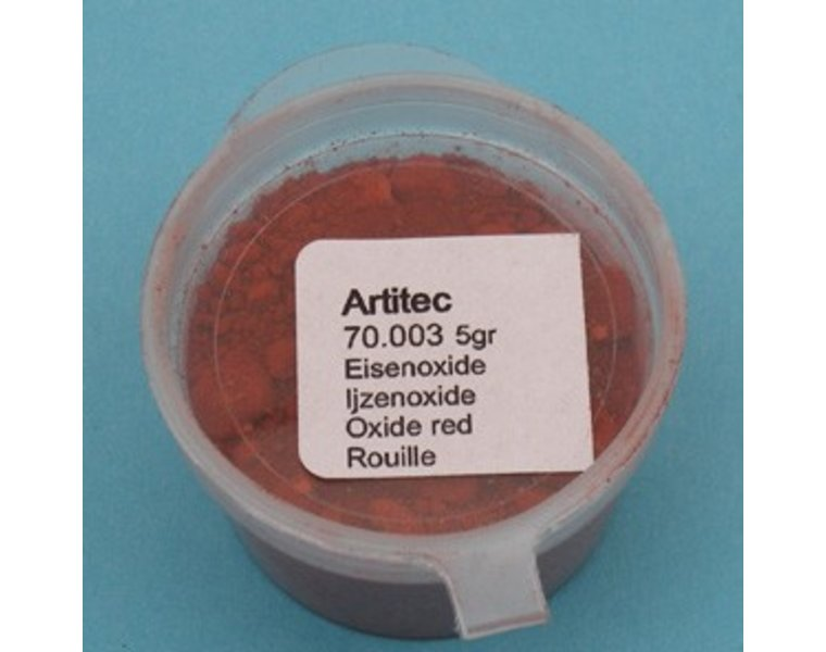 Mineral Paint Ironoxide red (weathering powder)