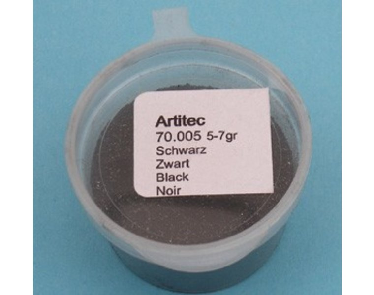 Pulver schwarz