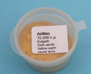 Mineral Paint Earth-tone yellow (weathering powder)