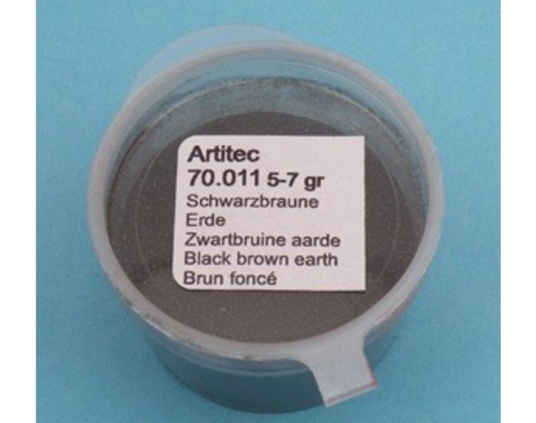 Mineral Paint Black-brown Earth-tone (weathering powder)