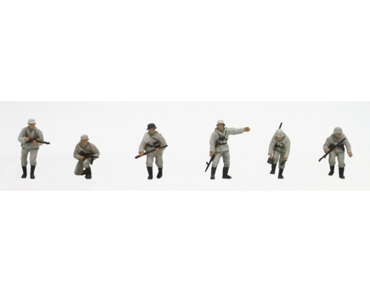Set 1 German infantry winter uniform