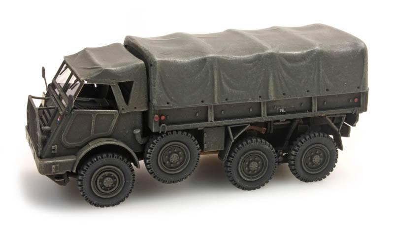 """DAF YA328 Cargo """"Dikke DAF"""", 1:87 bouwpakket (PU), ongeverfd"""