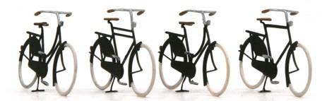Fahrräder alt, 1:160, Fertigmodell ausÄtzteilen, lackiert
