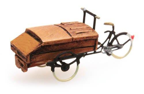 Brotlieferrad, 1:160, Fertigmodell ausResin, lackiert