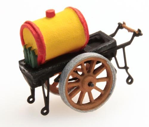 Oil pushcart, 1:160, resin ready made, painted