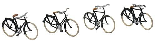 Duitse fietsen 1920-1960, 1:160, kant en klaar geëtst, geverfd