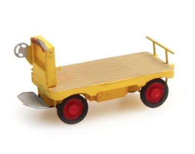 Elektrische Bahnsteigkarre gelb, 1:160, Fertigmodell ausResin, lackiert