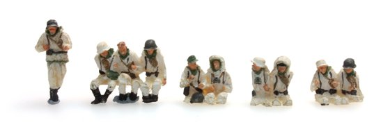 Bemanning Sd.Kfz.251/1B winter, 10 figuren