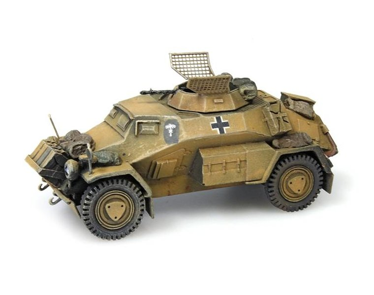 Sd.Kfz 221, 4-rad, MG34, Afrika Korps