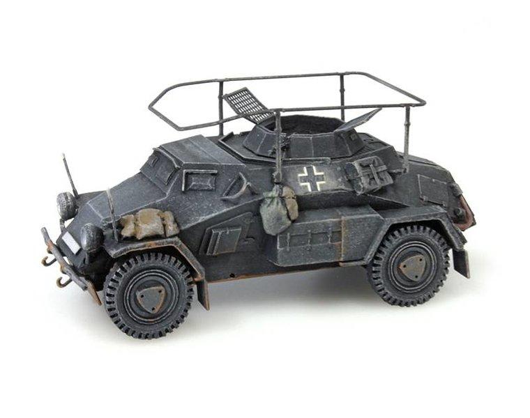 Sd.Kfz 223, 4-rad, Funkwagen, MG34, grey