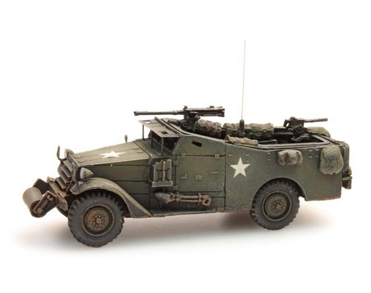 M3A1 White scout car, US / UK