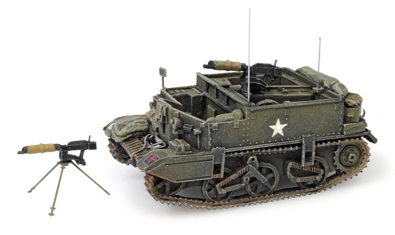Universal Carrier, machine gun, UK