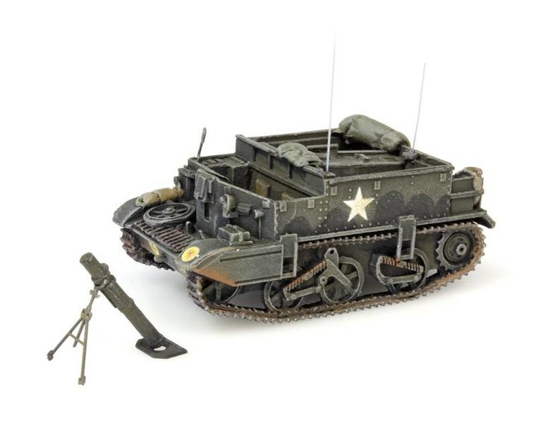 Universal Carrier, mortar, UK