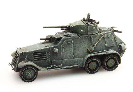 Landsverk L-181 M36, mobilisatie, NL