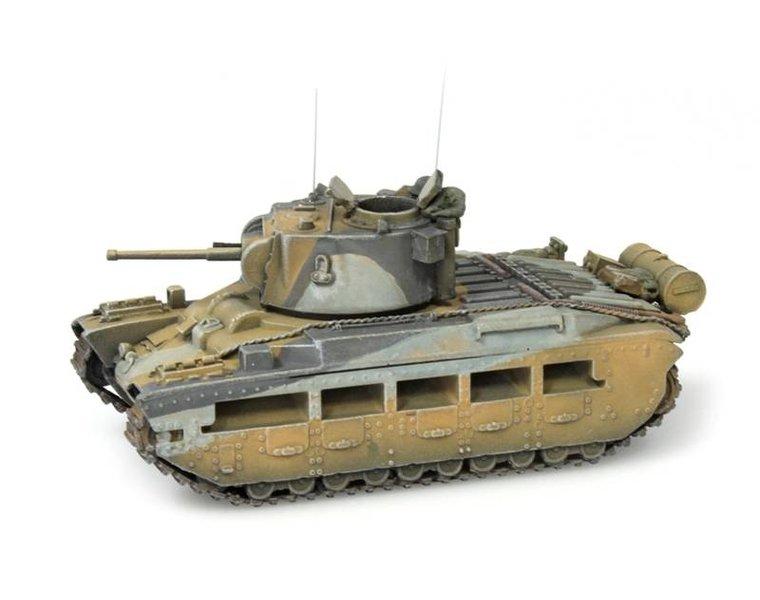 Matilda Mk II, UK, camo