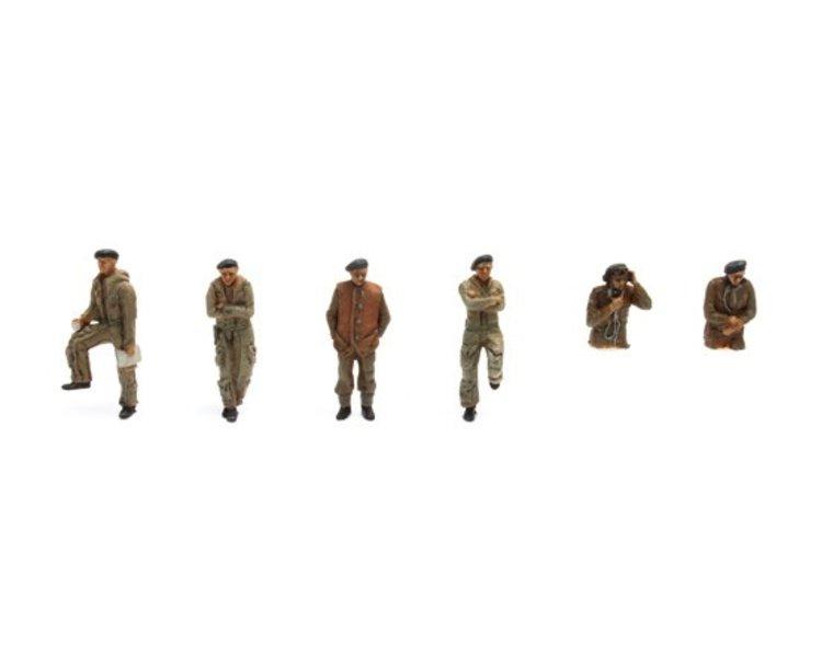 UK Tank crew 6 figuren