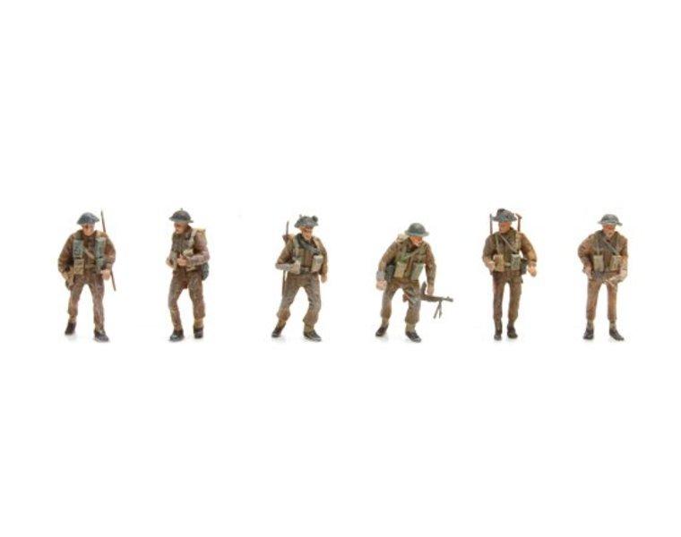 UK Infantry 6 figuren