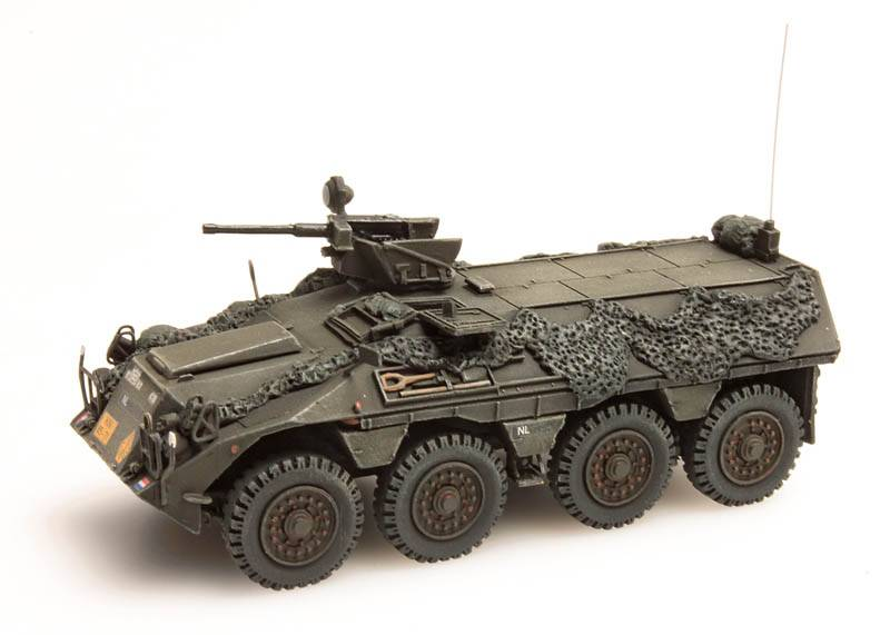 DAF YP-408 PWI-GR Combat Ready Infantry section