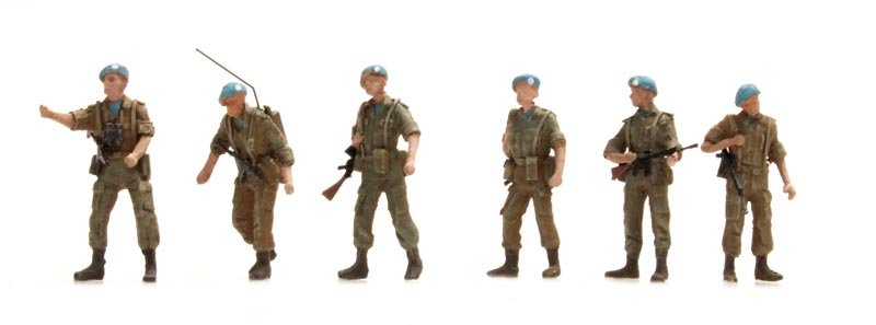 UNIFIL Patrouille 6 Figuren
