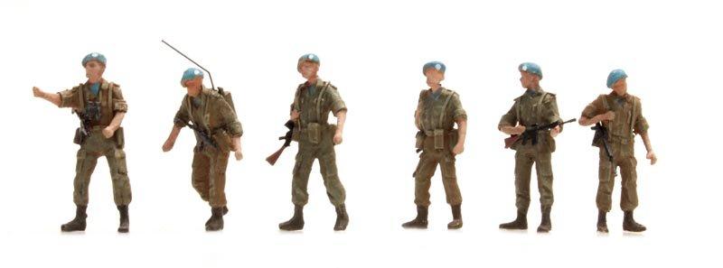 UNIFIL-patrouille Blauwhelmen, 6 figuren
