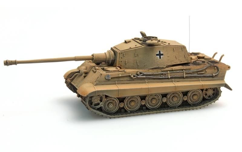 Tiger II Henschel Zimmerit, dunkelgelb