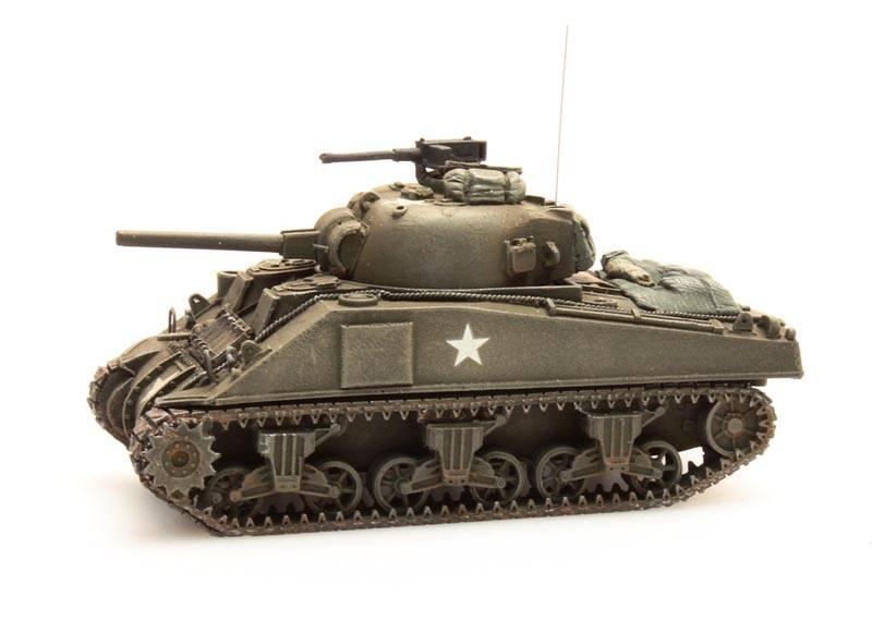 Sherman M4 stowage 1, 1:87 kant en klaar resin, geverfd