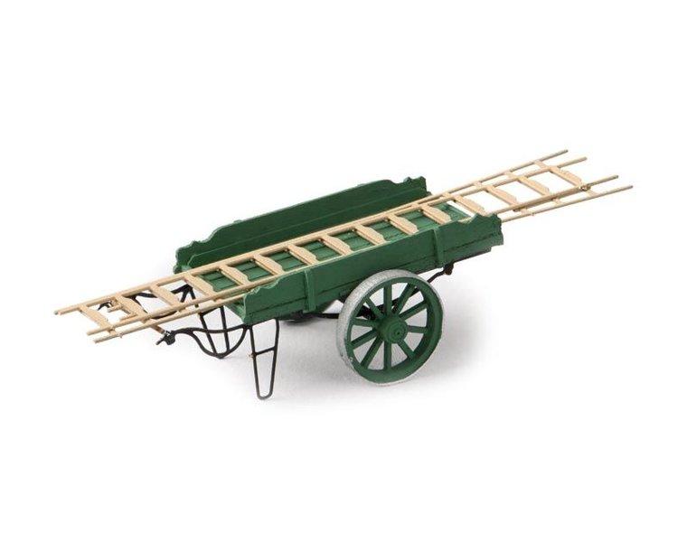 Ladderwagen groen