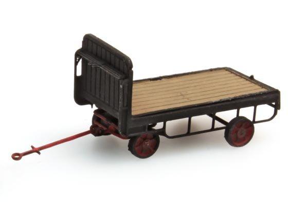 Luggage trailer black