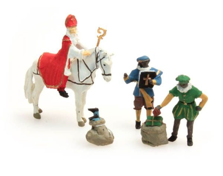 Sinterklaas und Schwarzer Peter
