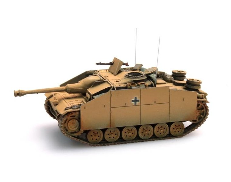 StuG III Ausf G Saukopf (1944) geel,