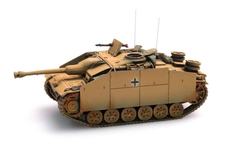 StuG III Ausf G Saukopf (1944) geel
