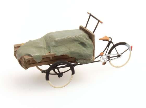 Delivery tricycle canvas tarp