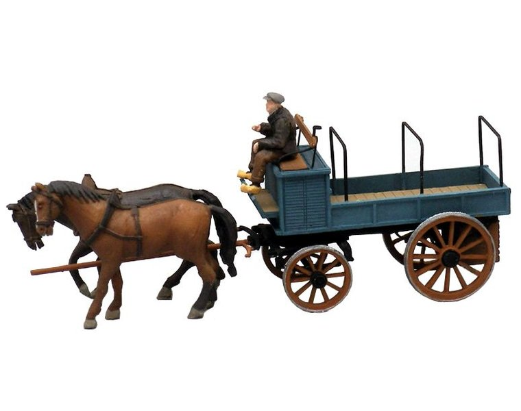 Open farmer's wagon
