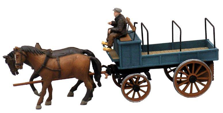 Offener Bauernwagen