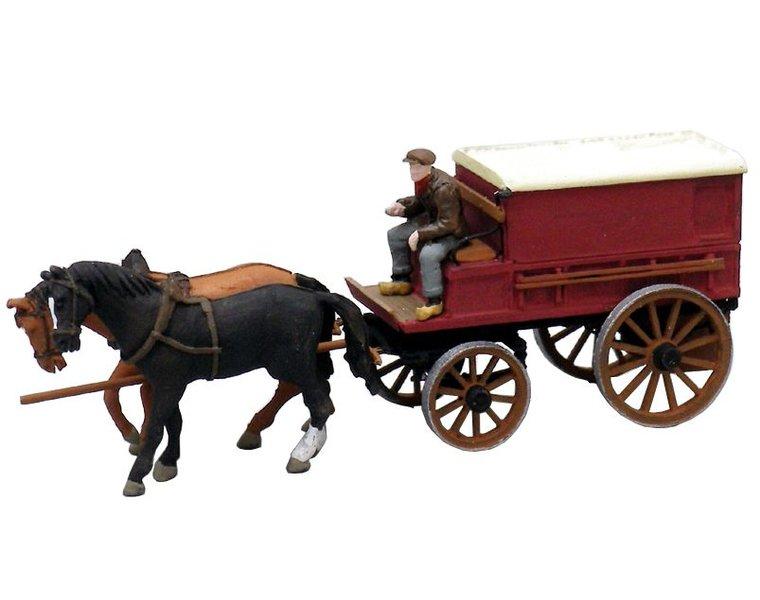 Gesloten boerenwagen