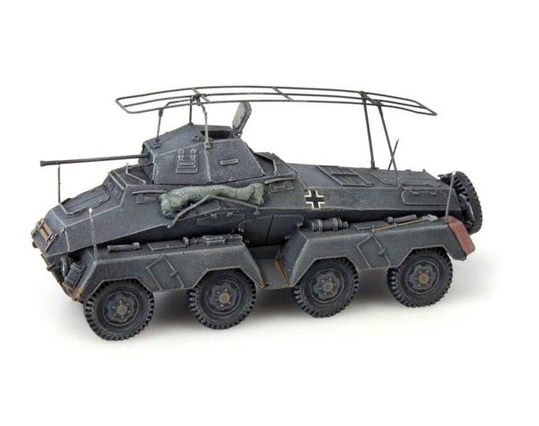 Sd.Kfz 232 8-Rad, Funkwagen, grijs